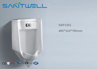 China SWF1351 Ceramic Urinal Self-cleaning glaze style Wall Mounted Installation factory