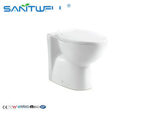 China Colored Multifunction Toilet Ceramic Two Piece WC White color factory