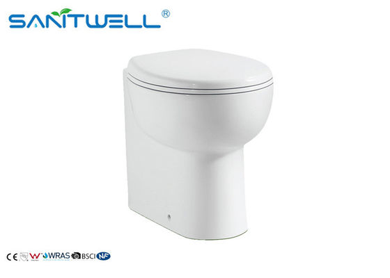 China Class Free Standing Toilet Ceramic Material m , P trap Two Piece  toilet factory
