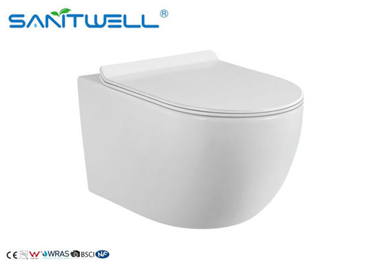 P trap Wall Mounted WC Class white ceramic material SWF325 molde