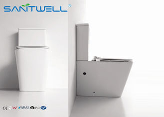 China Mobile public floor standing close coupled wc washdown toilet factory