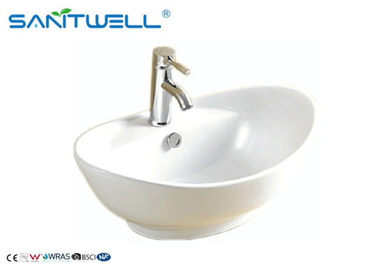 Bathroom oval ceramic basin ceramic hand wash basin sink art wash basin