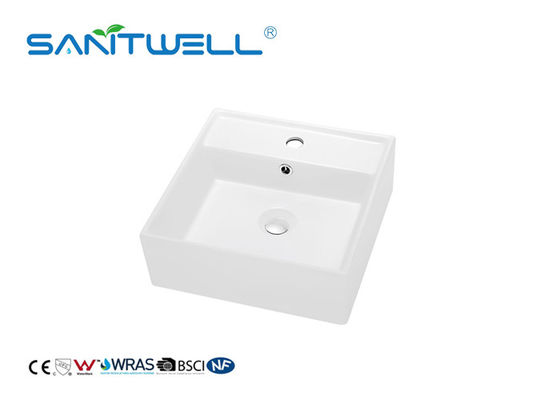 Ceramic Basin SWA55A Ceramic Cabinet Toilet Wash Basin Self Cleaning Glaze With ISO9001
