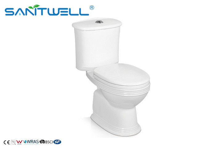 Modern European Style Gravity Ceramic Toilet Sanitary Ware Two Piece WC supplier
