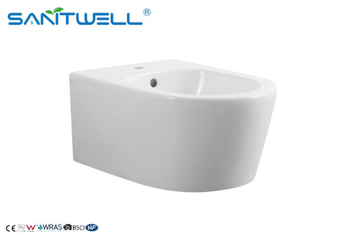 European Bidet White 490*360*360mm SWT331 Ceramic Material 180mm Roughing in supplier