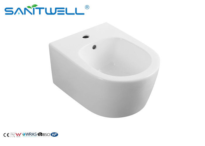 500*360*355 mm Wall Hung Bidet with hot and cold water washing Modern style wall fixing supplier