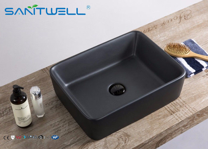 Basin Matte Black Bathroom Sink