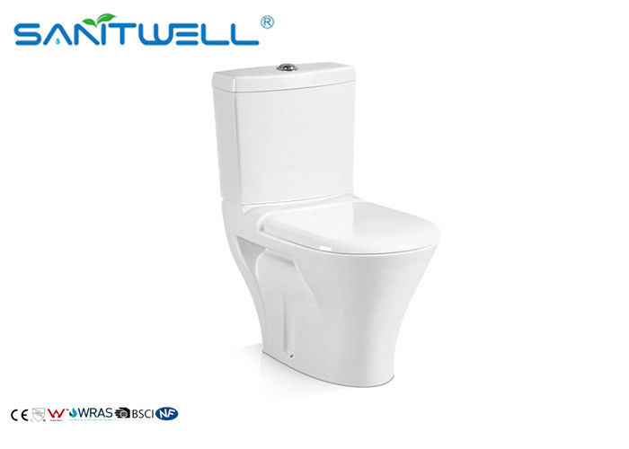 Vertical / Horizontal Outlet Pedestal WC Washdown For Living Room SWC2121 supplier