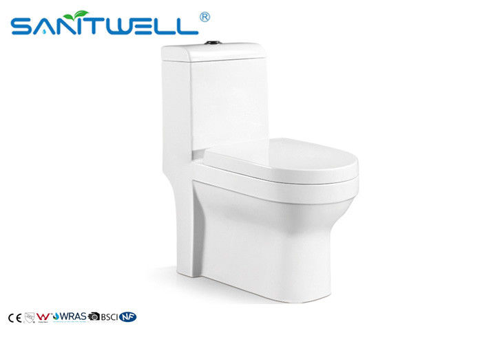 Elegant Design Ceramic Toilet With Double Flushing Water System SWC2811