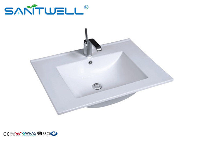 CE Approval Ceramics Counter Top Wash Basin Feather Edge AB8003-70 supplier