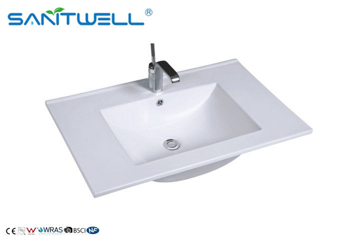 Antique Hand Counter Top Wash Basin Easy Clean With CE Certificate AB8003-75 supplier