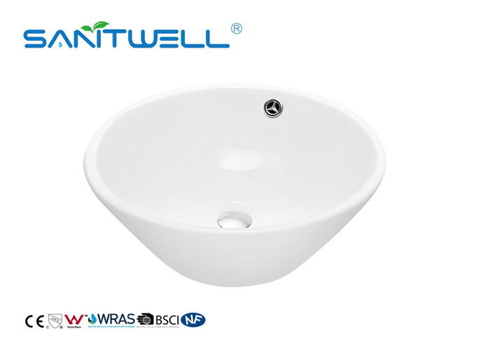 SW150 Ceramic Art Basin Durable Scratch Resistant Easy Installation supplier