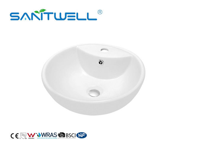 Fashionable Bathroom Wash Hand Wash Basin Gloosy For Toilet Hand Cleaning supplier