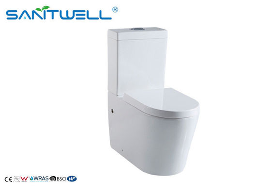 Economic 2 piece toilet cyclone jets Bathroom santiary dual flush waterless